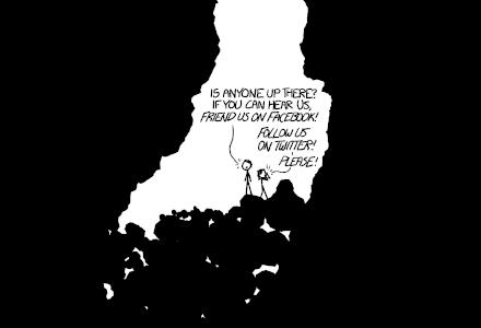 xkcd - Ausschnitt aus 'click and drag'